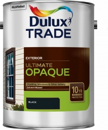 Dulux Trade Weathershield Ultimate Opaque Black 5l