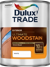 Dulux Trade Weathershield Ultimate Woodstain Ebony 1l