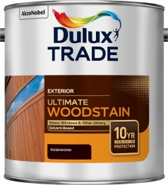 Dulux Trade Weathershield Ultimate Woodstain Rosewood 2.5l
