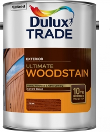 Dulux Trade Weathershield Ultimate Woodstain Teak 5l