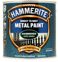 Hammerite Hammered Dark Green 2.5l