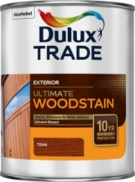 Dulux Trade Weathershield Ultimate Woodstain Teak 1l
