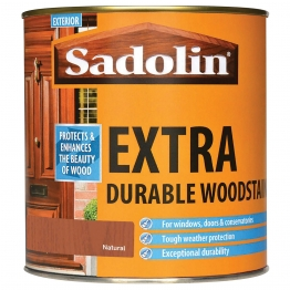Sadolin Extra Durable Woodstain Natural 1 Litre