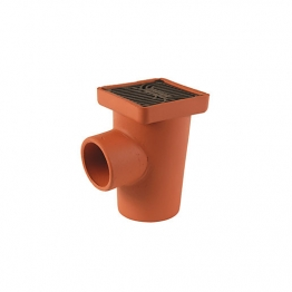Hepworth Supersleve Housedrain P Trap Square Gully 100mm