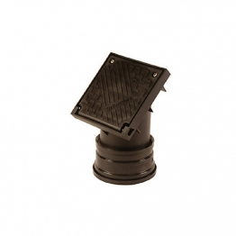Hepworth Supersleve Housedrain Sealed Square Top Rodding Point 100mm