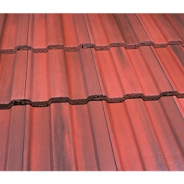 Marley Ludlow Major Roofing Tile Old English Dark Red