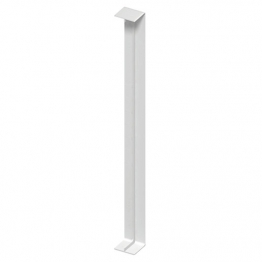 Eurocell Roofline Profile Upvc Double Capping Board Joint Trim White