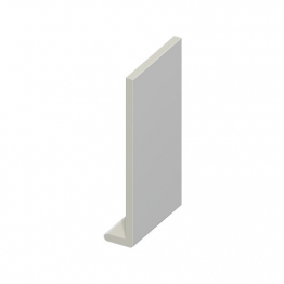Eurocell Roofline Profile Upvc Capping Board White Cb 250 Wh 250mm X 9mm