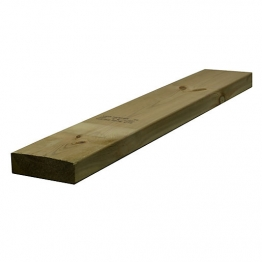 Sawn Timber Regularised Treated C16 47mm X 150mm
