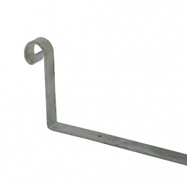 Simpson Scrolled Hip Iron 300mm X 150mm X 25mm