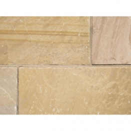 Natural Paving Products Buff Calibrated Sandstone Project Pack 15.84m2