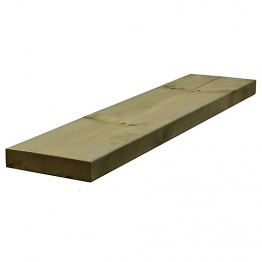 Sawn Timber Regularised Treated C16/c24 47mm X 225mm