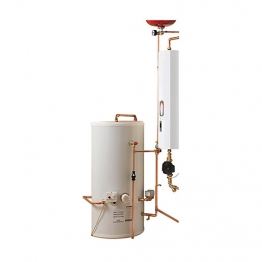 Electric Heating Company Compact Cpsicomp10/180 Electric Boiler Complete With Indirect Cylinder 10kw 180l
