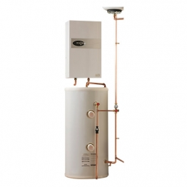 Electric Heating Company Eclipse Cpsdecl12/150 Electric Boiler Complete With Direct Cylinder 12kw 150l