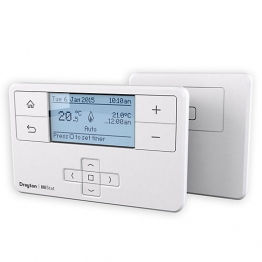 Drayton Mistat Mp710r9k09sx Wireless Programmable Thermostat And Receiver