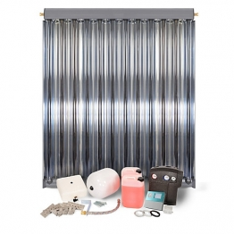 Solfex Dsk-05915 Energy Systems 1 X Cpc12 Inox Vacuum Tube Solar Thermal Pack With A-frame Mounting System
