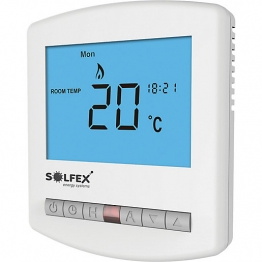 Solfex Slimline Thermostat For Use With Uh8 & Uh4 230v