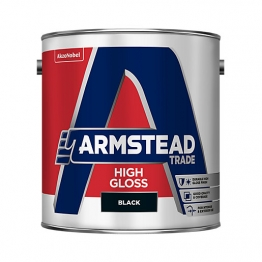 Armstead Trade High Gloss Black 2.5l