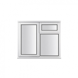 Stormsure Softwood Plain Casement 24mm Fully Glazed Window 1195 X 1045mm Lew210cvas