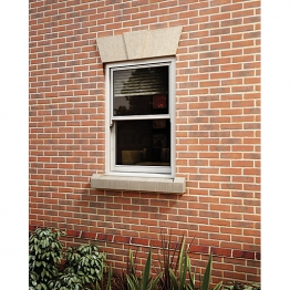 Softwood Sliding Sash 24mm Fully Glazed Window 855 X 1345mm Letvs0813