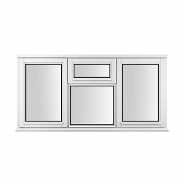 Stormsure Softwood Plain Casement 24mm Fully Glazed Window 1765 X 1195mm Lew312cvc