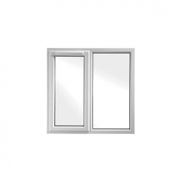 Upvc Window Lh Shield6 White 1190mm X1040mm