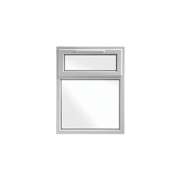 Upvc Window 2p Shield6 White 905mm X 1040mm