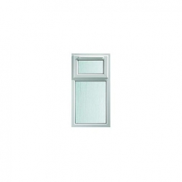 Upvc Window Shield6 White Stp 610mm X 1040mm
