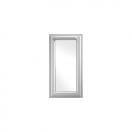Upvc Window Lh Shield6 White 610mm X 1190mm