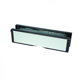 Intumescent Letter Box Fire Rated Satin Anodised Aluminium 250mm X 70mm