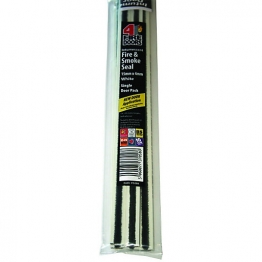 Intumescent Fire & Smoke Seal Single Door Pack White 15mm X 4mm X 1.05m