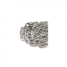4trade Welded Link Chain 2.5 X 24mm Bright Zinc Plated 2.5m Hank