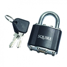 Squire 39 Laminated Padlock Open Shackle 50mm