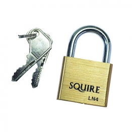 Squire Ln4 Lion Padlock Brass 40mm