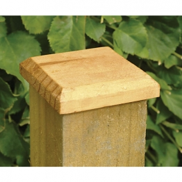 Fence Post Green Cap Pressure Treated 125 X 125mm