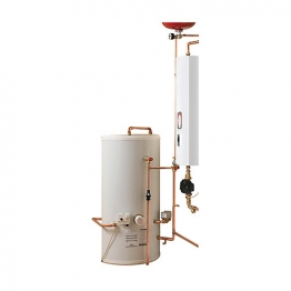 Electric Heating Company Compact Cpsicomp12/210 Electric Boiler Complete With Indirect Cylinder 12kw 210l