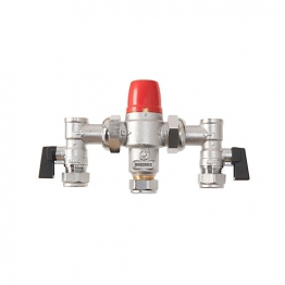 Bossmix? Tmv322ac Thermostatic Mixing Valve & Strainers Non Return Valves & Isolation Valves Strainers 22mm
