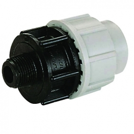 Plasson Threaded Male Adaptor 25mm X 3/4in