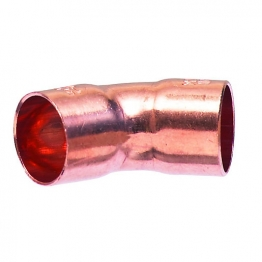 Obtuse Elbow 45 Degree End Feed 28mm