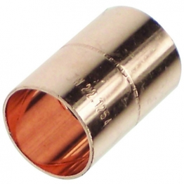 Straight Slip Coupling End Feed 28mm