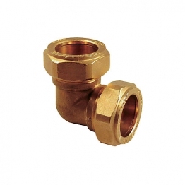 Compression Equal Elbow Fitting 22mm