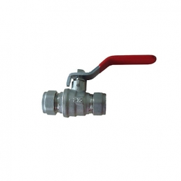 Lever Ball Valve Cxc Red 15mm