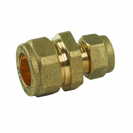Compression Dzr Straight Reducing Coupler 15mm X 10mm
