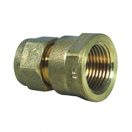Coupling Compression Fl 22mm X 3/4in