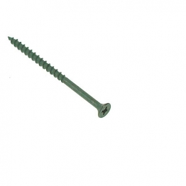4trade Collated Decking Screw 4 X 65mm Green 1000