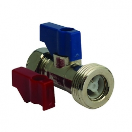 Straight Connector 15mm X 3/4in