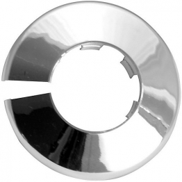 4trade Pipe Collars Chrome 22mm (pack Of 5)
