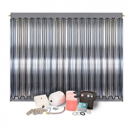 Solfex Dsk-05917 Energy Systems 1 X Cpc18 Inox Vacuum Tube Solar Thermal Pack For Slate Roof