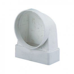 Manrose Elbow Connector 90 Degree 110mm X 54mm