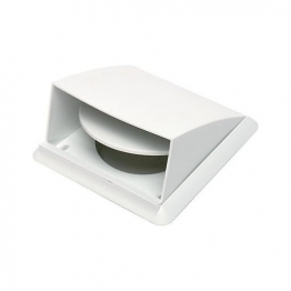 Manrose Cowled Wall Outlet 100mm